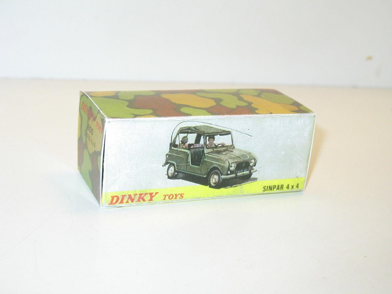N27, scatola Renault 4 L sinpar gendarmerie militare bt repro DINKY 800 simpar