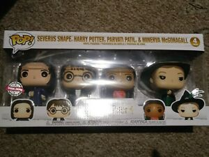 FUNKO-POP-HARRY-POTTER-SPECIAL-EDITION-SET-OF-4-HARRY-MCGONAGALL-SNAPE-PAVATI