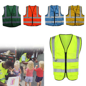 High-Visibility-Safety-Vest-With-Zipper-Reflective-Jacket-Security-Waistcoat