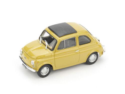 Fiat 500R 1972-75 Chiusa Giallo Tufo 1:43 Model BRUMM