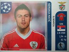 Panini 165 Nemanja Matic SL Benfica UEFA CL 2011/12