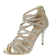 c9ac104180c9fb item 3 New Womens Rhinestone Strappy Cage Dress Sandal Shoe Peep Toe  Stiletto High Heel -New Womens Rhinestone Strappy Cage Dress Sandal Shoe  Peep Toe ...