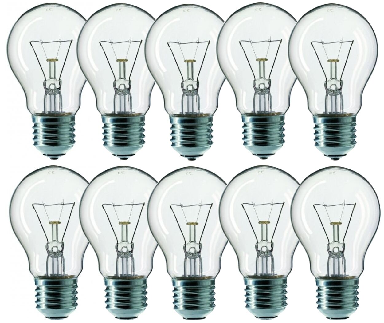 Energy Licht Glühbirne e27 60 watt klar