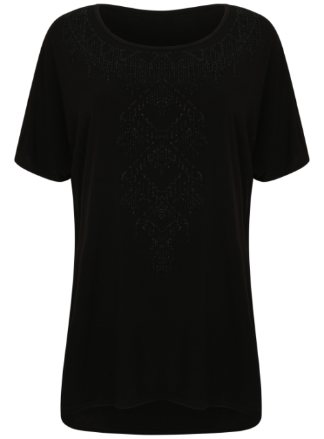 c8905cb8338 Ladies Bling Womens Evans Top T Shirt Plus Size Big Large Size 14 ...