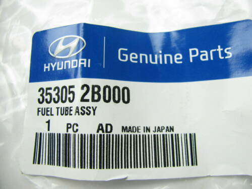 New OEM Fuel Rail To Fuel Pump Hose Line For 12-13 Accent Veloster 353052B000