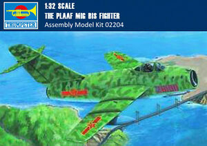 Trumpeter-02204-1-32-Scale-The-PLAAF-MIG-15-bis-Fighter-Assembly-Aircraft-Model
