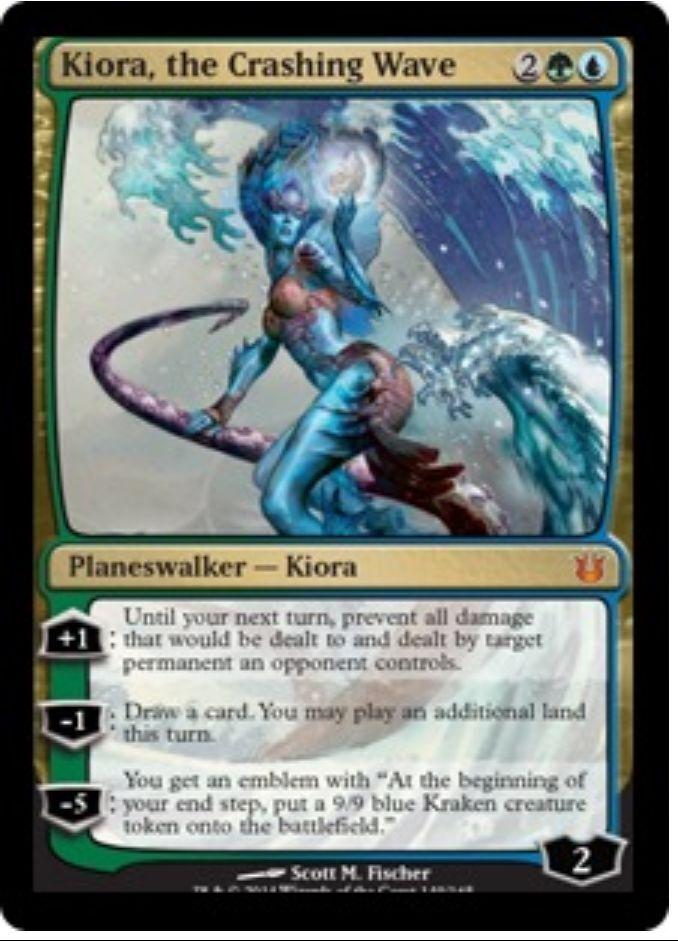 Kiora, The Crashing Wave x2 + + + 20 Random Rares  MTG Gift Set Birthday Xmas Lot 219c52