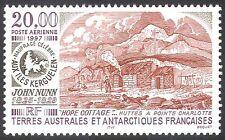 FSAT/TAAF 1997 John Nunn/Cottage/Shipwreck/People/Nautical/Buildings 1v (n23035)