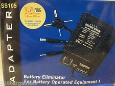 AC to DC Voltage Adapter 1000ma 110 220 volt Universal 110v 220v Sevenstar SS105
