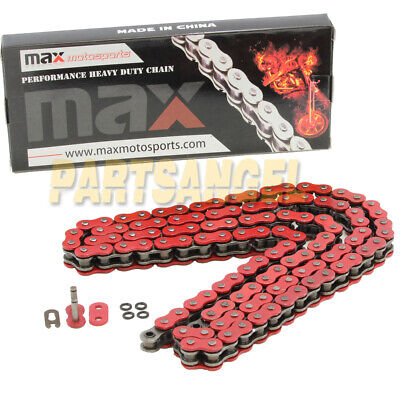 Red O-Ring Chain 520x96L for 2004 2005 2006 2007 2008 2009 Yamaha YFZ450