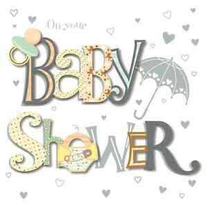 Image Is Loading On Your Baby Shower Greeting Card By Talking
