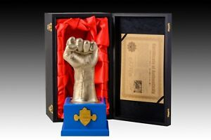 Manny-Pacquiao-039-s-Official-Metal-Fist-Statue