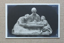 CPA sculpture Salon Paris 1903 Mme B. Girardet Donnez nous notre pain quotidien
