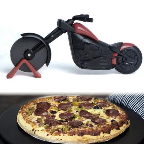 Modelo de la motocicleta Pastelería Pizza Panqueque pie rueda Cutter Slicer Hoja Cortador De Alimentos