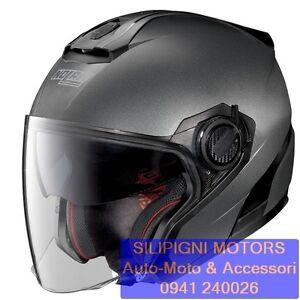 NOLAN-N40-5-SPECIAL-N-COM-09-Black-Graphite-Casco-Jet-Demi-Jet-Scooter-Moto