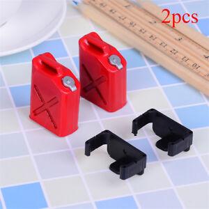 2Pcs rc rock crawler 1:10 accessories mini fuel tank for cc01 axial scx10WGD TM