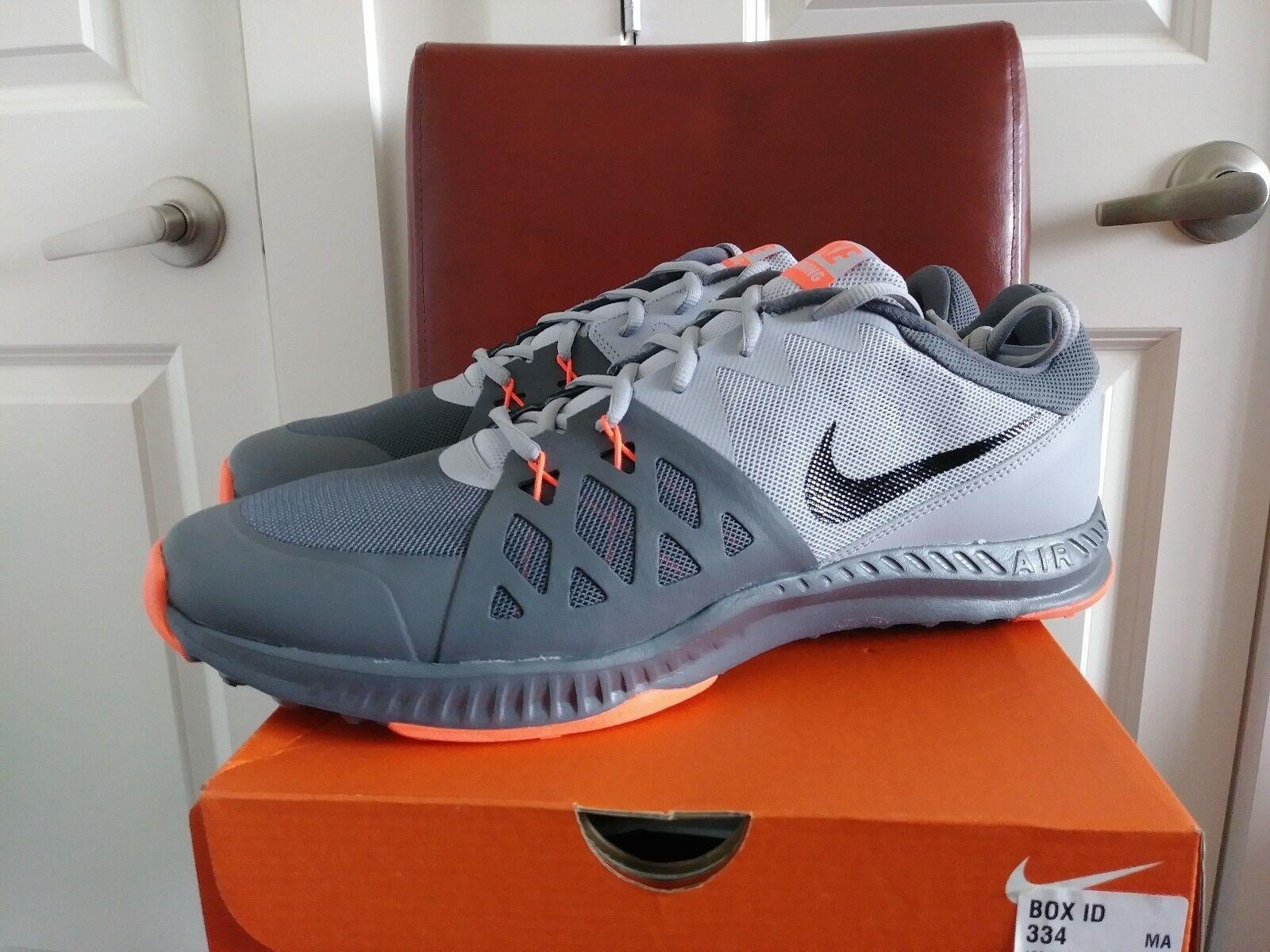Mens Nike Air Epic Speed TR ll size 14 D Dark Grey/Black-Wolf Grey