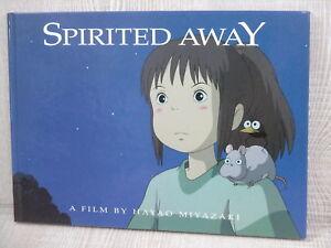 SPIRITED-AWAY-Sen-to-Chihiro-no-Kamikakushi-Art-Book-HAYAO-MIYAZAKI-Ltd