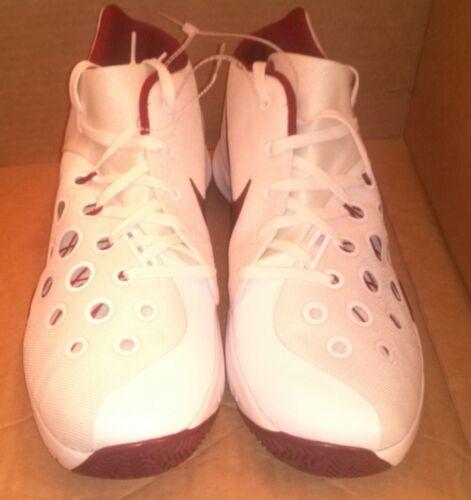 Hyperquickness Shoes Tb 3 14 Bordeaux Nike zeldzame Zoom New 5 Wit kleur Zeer TXqwIO5I