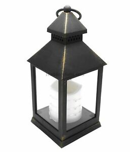 24cm-Antique-Bronze-LED-Traditional-Hanging-Outdoor-Indoor-Lantern