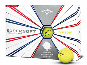 Callaway-Supersoft-Golf-Balls-1-Dozen-Yellow-Mens