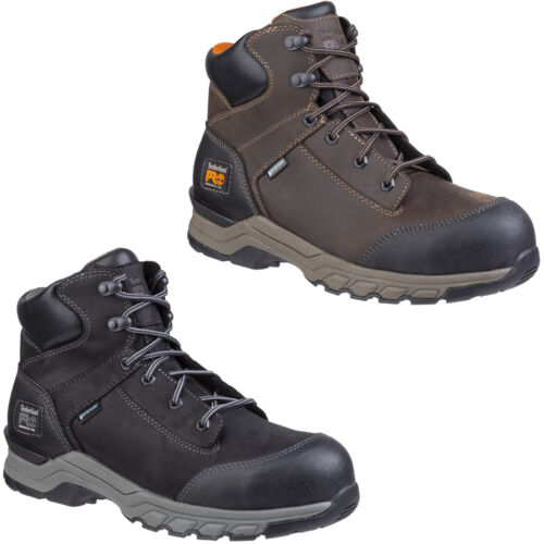 Timberland Pro Hypercharge Safety Boots Waterproof Composite Toe Cap Work Mens