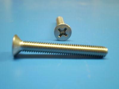 Assortiment-senkkopf vis avec cruciforme DIN 965 m2 Acier Inoxydable a2 500 pièces