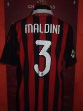 MALDINI MILAN 2009/2010 MAGLIA SHIRT CALCIO FOOTBALL MAILLOT JERSEY SOCCER