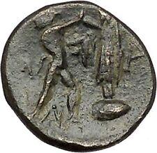 Antigonos II Gonatas Macedonian King Ancient Greek coin Athena PAN Cult  i41114