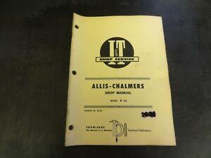 Allis-Chalmers-I-amp-T-160-Tractors-Shop-Manual-AC-25