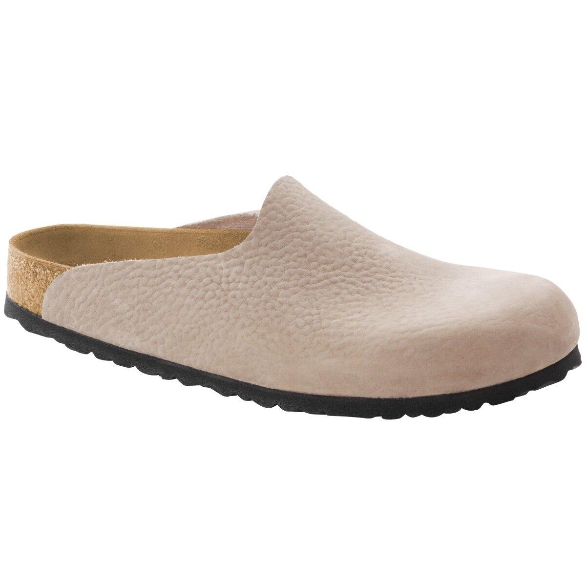 Birkenstock Amsterdam Nubukleder Clogs 1006720 Schuhe Pantolette Weite schmal 1006720 Clogs 19326e