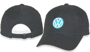 Checkered Flag Vw >> Volkswagen Checkered Flag Vw Logo Navy Garment Washed Adjustable