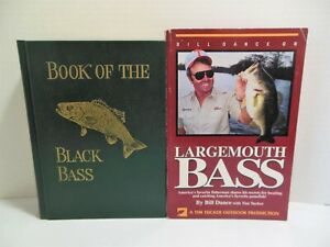 Lot LARGEMOUTH BASS And BOOK OF THE BLACK BASS Fishing How To Catch Fish Tackle