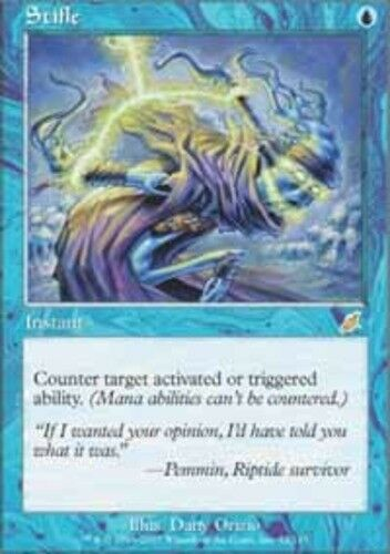 1x Stifle Moderate Play English Scourge MTG Magic
