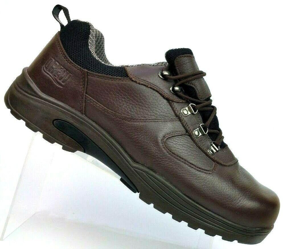 Drew Boulder Brown Leather Comfort shoes Slip Oil Resistant 40920-68 Men's 15-4W