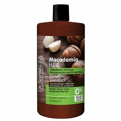 Dr.Sante Natural Macadamia Shampoo for Weakened Hair with Keratin 1000ml