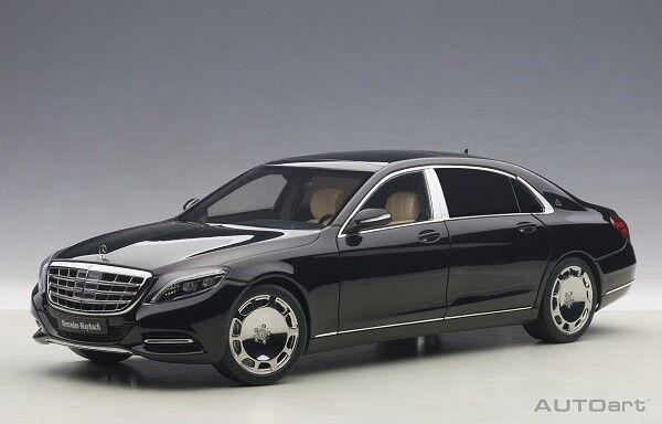 promociones de descuento Autoart 76293 - 1 18 maybach mercedes clase s s s s600 v12 biturbo-negro-nuevo  entrega gratis