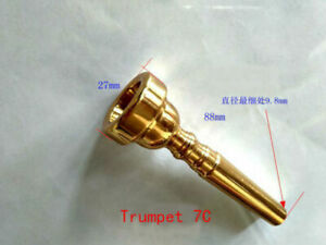 TRUMPET-MOUTHPIECE-7C-Gold-Plating-Brass-Parts