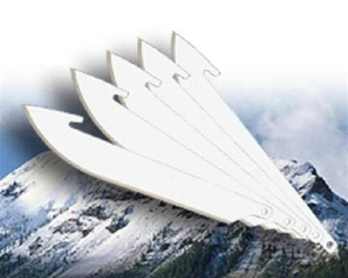 """NEW Outdoor Edge 6 3.5/"""" Replacement Blades for Razor-Lite Razor Blaze Razor-Pro"""