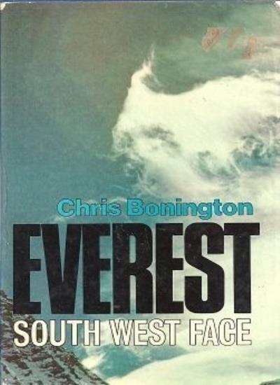 Everest South West Face By Sir Chris Bonington