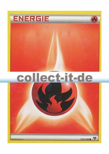 Pokemon XY 133//146 Feuer-Energie  Deutsch