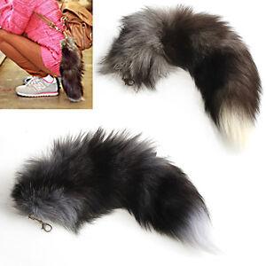 Large-Fox-Fur-Tail-Keychain-Tassel-Bag-Tag-Handbag-Backpack-Pendant-Keyring-New