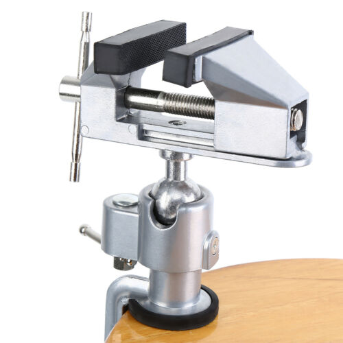 360° Drehbar Mini Schraubstock Tischschraubstock Mit Drehgelenk Für Modellbau