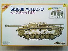 Dragon 9119 StuG.III Ausf.C/D w/7,5cm L48 1:35 Neu, eingetütet, OHNE Figuren