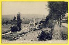 cpa 55 - SAINT JOIRE (Meuse) Vue prise de la ROUTE de LANEUVILLE Haut Fourneau