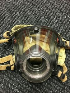 Scott-AV-2000-Firefighter-Facepiece-SCBA-CBRN-NBC-Size-Small-Good
