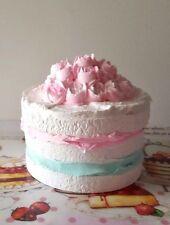 NAKED FAKE CAKE, MARIE ANTOINETTE FAKE CAKE PHOTO PROPS, SHABBY COTTAGE DECOR