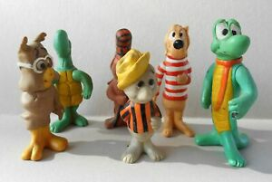 1969-Pogo-characters-complete-set-of-6-Walt-Kelly