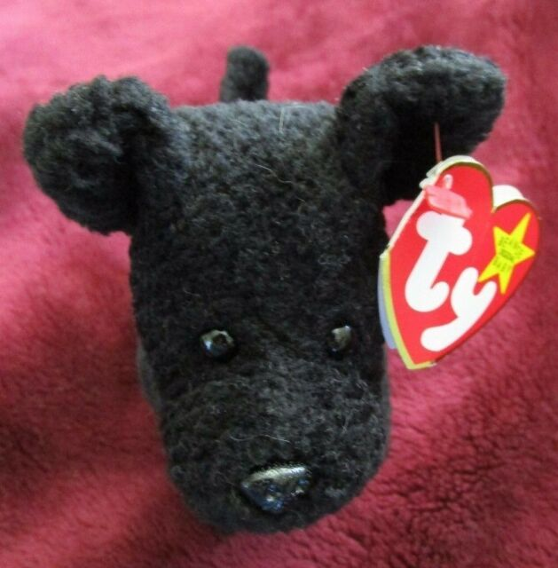 Ty Beanie Baby RARE Retired Scottie The Dog 15 June 1996 Style 4102 ... c158e202455c