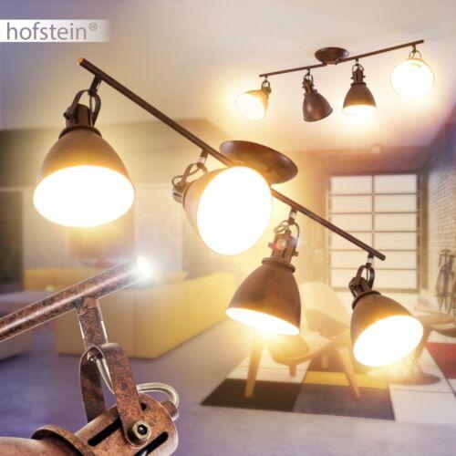 Retro Wohn Schlaf Flur Zimmer Beleuchtung Rost Braun Decken Leuchten verstellbar